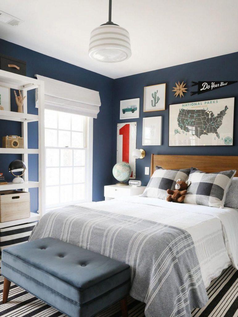 Blue room for boys