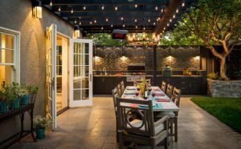 exterior dining set